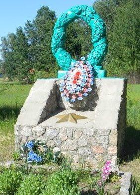 с. Заброды Богодуховского р-на. Памятник на сельском кладбище, установлен на братской могиле, в которой похоронены 191 воин, в т.ч. 123 неизвестных, погибших при освобождении села.