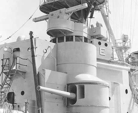 """Корабельное орудие 6""""/53 в различных вариантах"""
