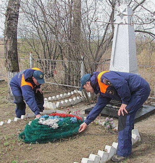 с. Игнатьево Благовещенского р-на. Памятник на братской могиле