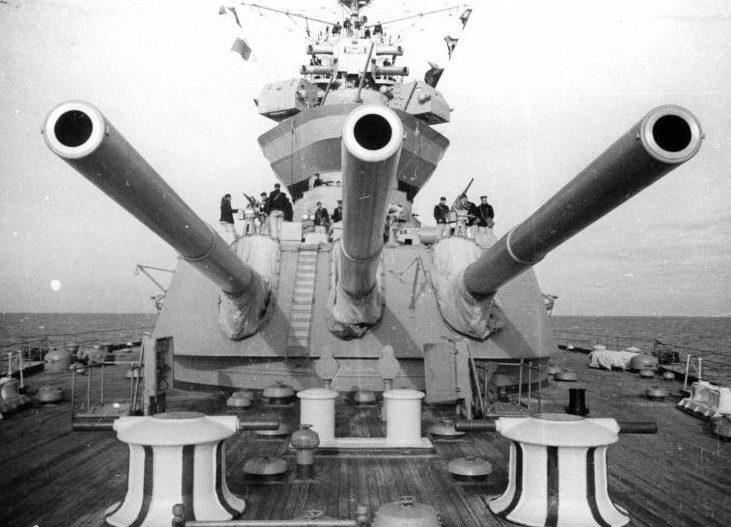 """Корабельное орудие 12""""/52 в башне МК-3-12"""