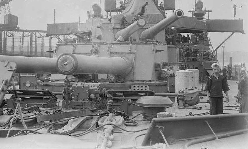 """Корабельное орудие  12""""/50  Mk-7"""
