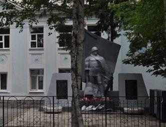 п. Новобурейск Бурейского р-на. Памятник воинам-землякам