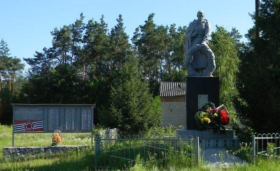 с. Павловка Богодуховского р-на. Памятник в центре села, установлен на братской могиле, в которой похоронено 65 воинов, в т.ч. 55 неизвестных. На мемориальных досках, установленных у памятника написаны имена односельчан, не вернувшихся с войны