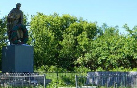 с. Сенное Богодуховского р-на. Памятник установлен на братской могиле, в которой похоронен 141 воин, в т.ч. 96 неизвестных, погибших в боях за село. На памятном знаке погибшим землякам, установлена мемориальная доска с именами односельчан, не вернувшихся с войны