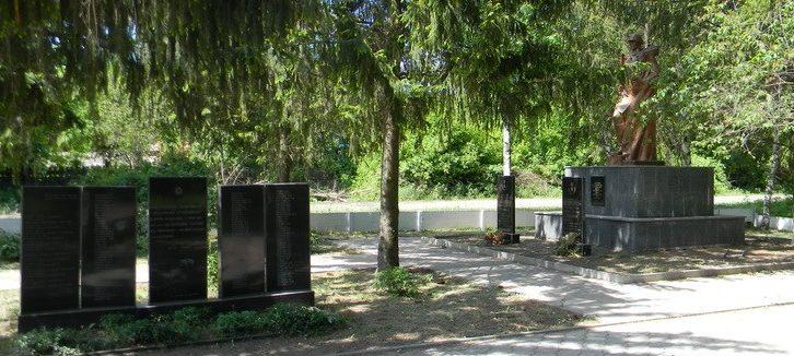 с. Ульяновка Богодуховского р-на. Мемориал на братской могиле