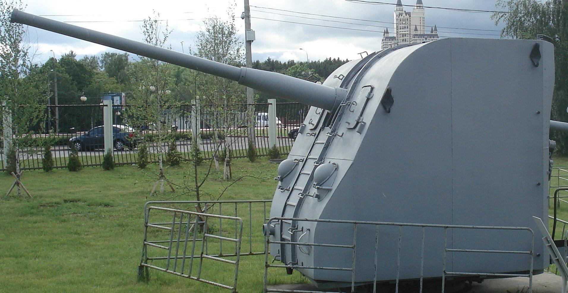 Корабельное орудие Б-34