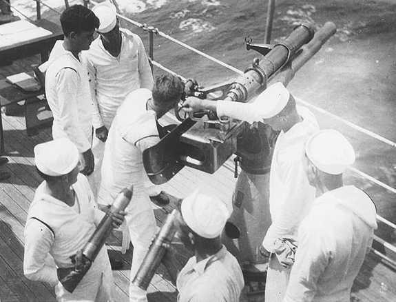 """Корабельное орудие 3""""/23.5. Mk-11 на эсминце"""