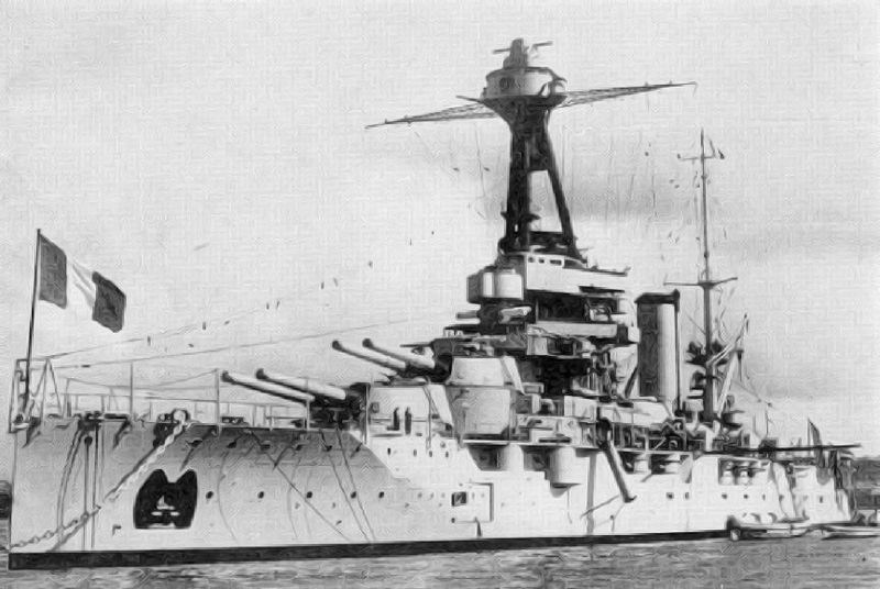 Корабельное орудие 138-mm Modèle 1910