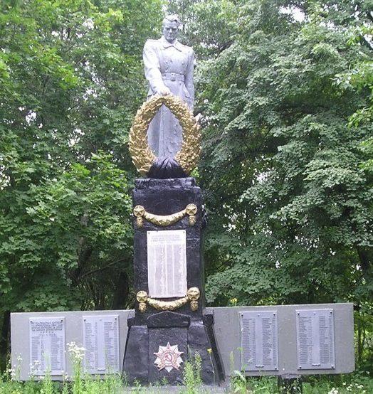 с. Хрущевая Никитовка Богодуховского р-на. Памятник установлен на братской могиле, в которой похоронено 91 воин, в т.ч. 51 неизвестный, погибших в боях за село. На стеле, расположенной у памятника написаны имена 212 земляков, погибших на войне.