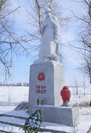с. Ковтуновка Балаклейского р-на. Братская могила советских воинов на окраине села