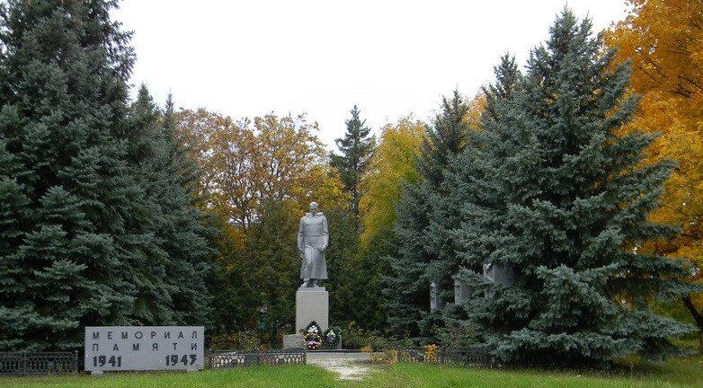 с. Асеевка Балаклейского р-на. Мемориал памяти воинам-землякам