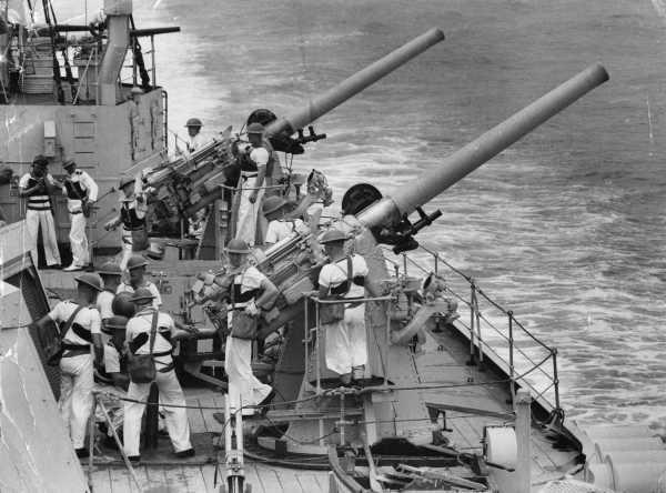 Корабельное орудие 102-mm/45