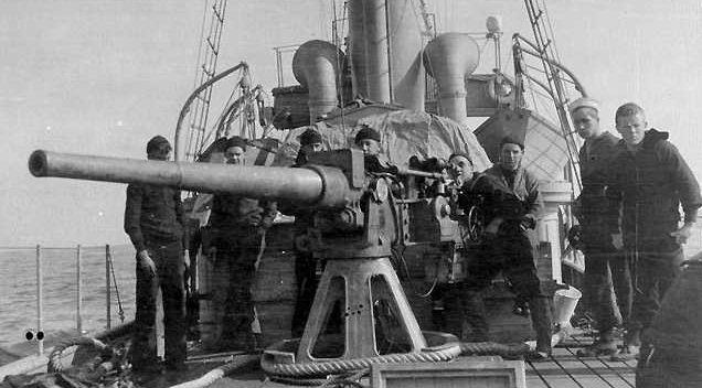 """Корабельное орудие 3""""/50 Mk-5/6"""