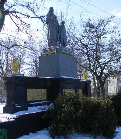 п. Савинцы Балаклейского р-на. Общий вид мемориала