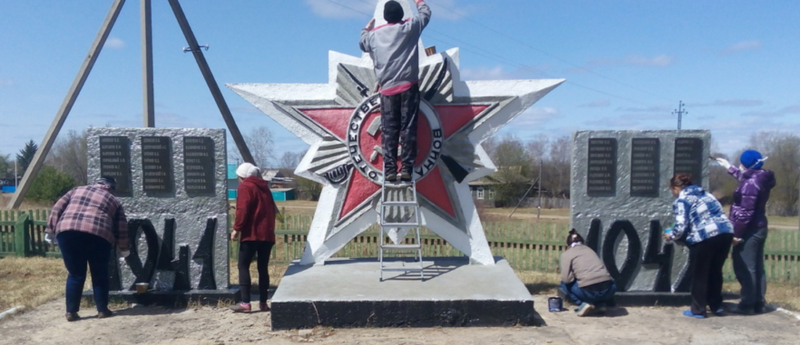 с. Молчаново Мазановского р-на. Памятник односельчанам