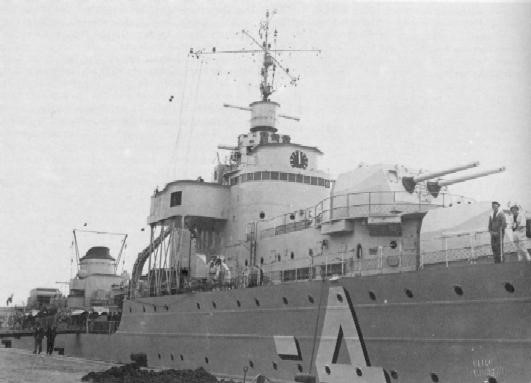 Корабельное орудие 138-mm/45. Modèle 1934