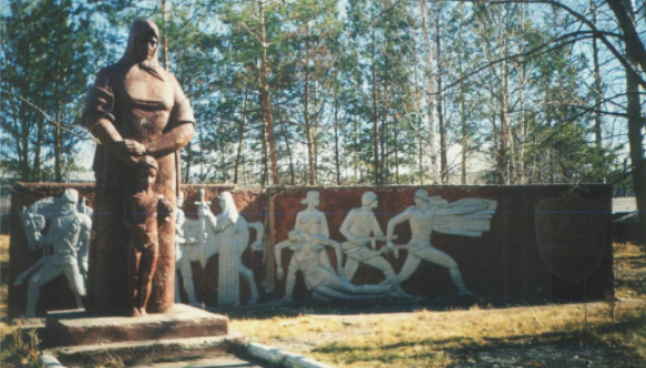 с. Ромны. Монумент воинам-односельчанам