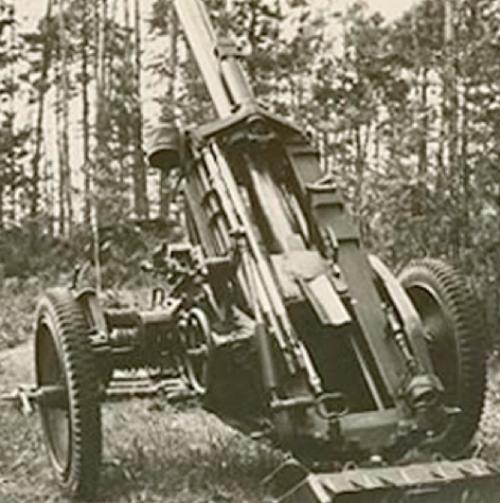 Миномет 10-cm Nebelwerfer 40