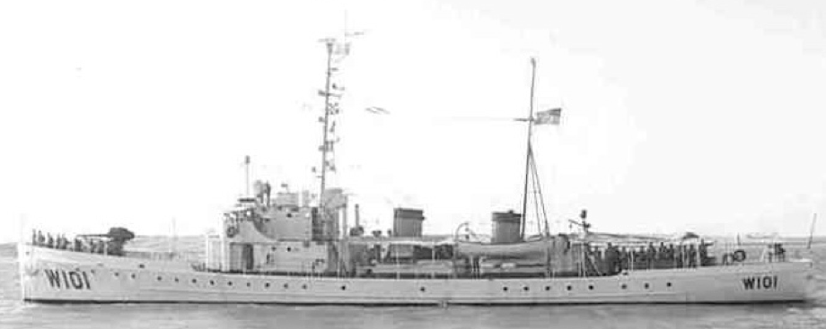 Корабль береговой охраны WPC-101 «Ariadne»