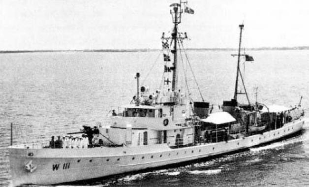 Корабль береговой охраны WPC-111 «Nemesis»
