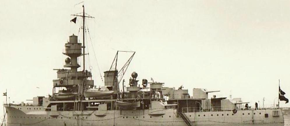 Учебный артиллерийский корабль «Nordland»
