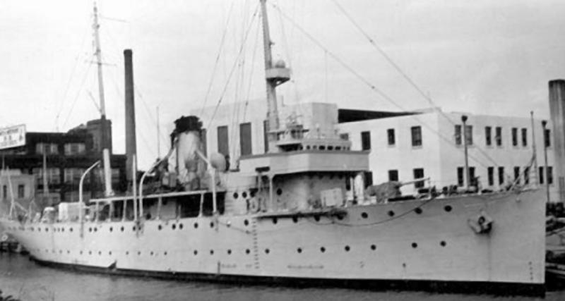Канонерская лодка «Sacramento» (PG19)