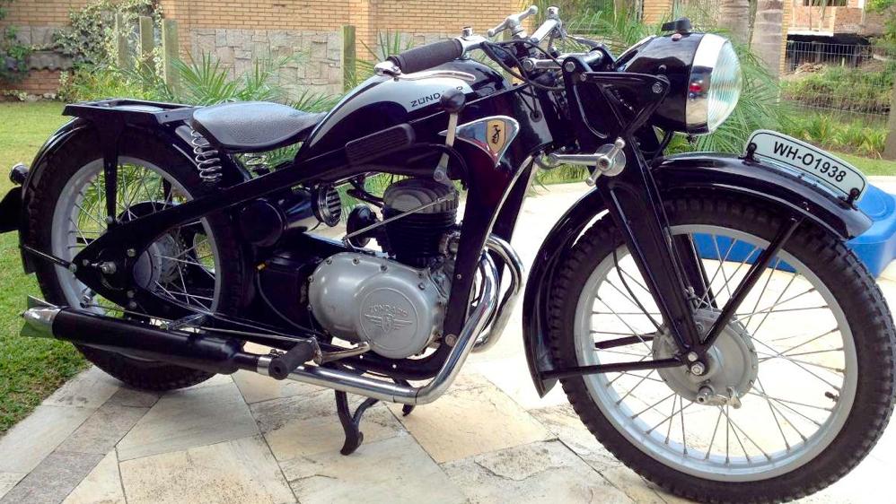Мотоцикл Zündapp DBK-200