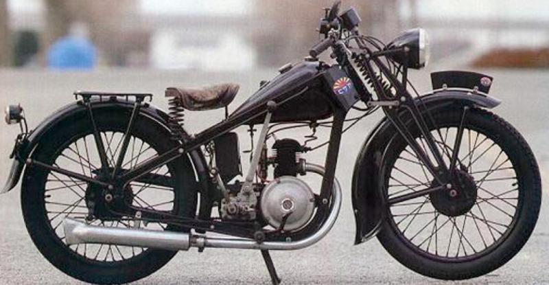 Мотоцикл Asahi AA