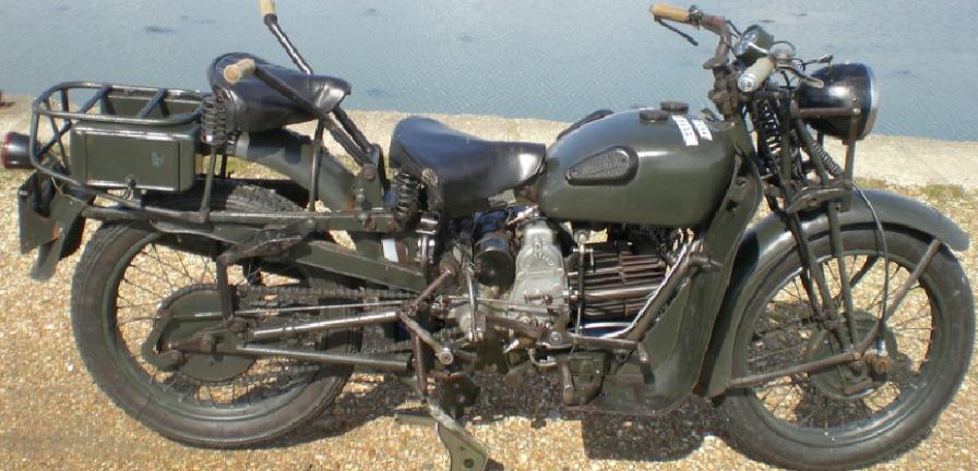 Мотоцикл Guzzi 500 Alce