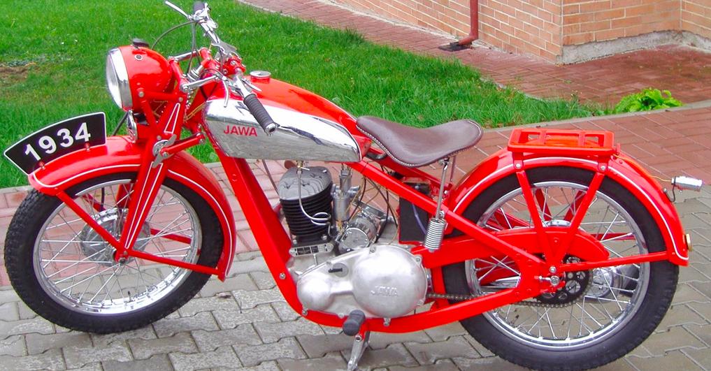 Мотоцикл Jawa 350-SV