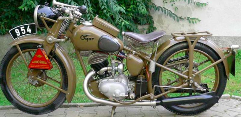Мотоцикл Ogar 4