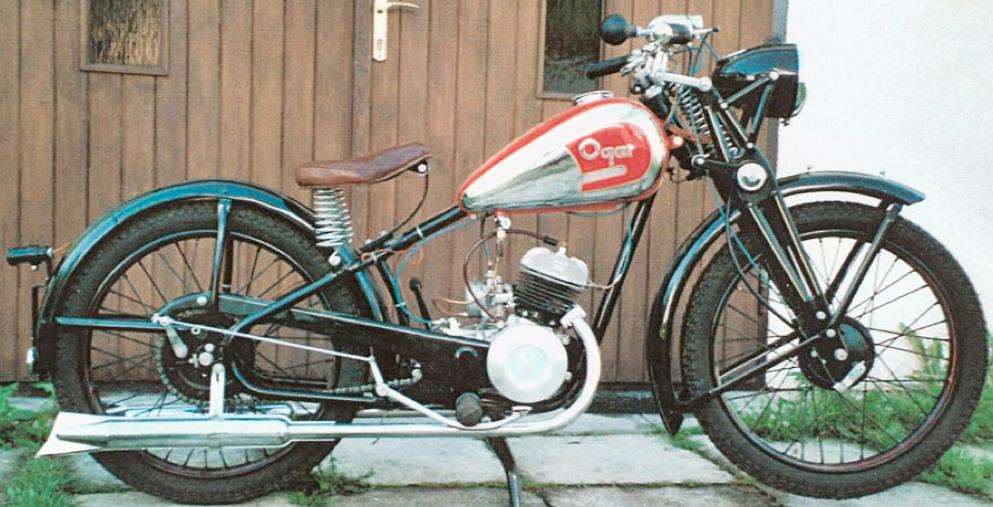 Мотоцикл Ogar 125