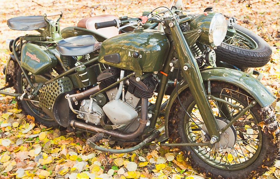 Мотоцикл Universal A-1000