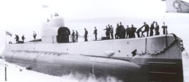 Подводная лодка «Golfinho»
