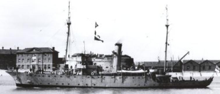 Плавбаза подводных лодок «Alecto» (J-10)