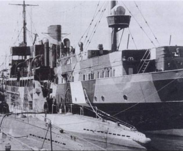 Плавбаза подводных лодок «Weichsel»