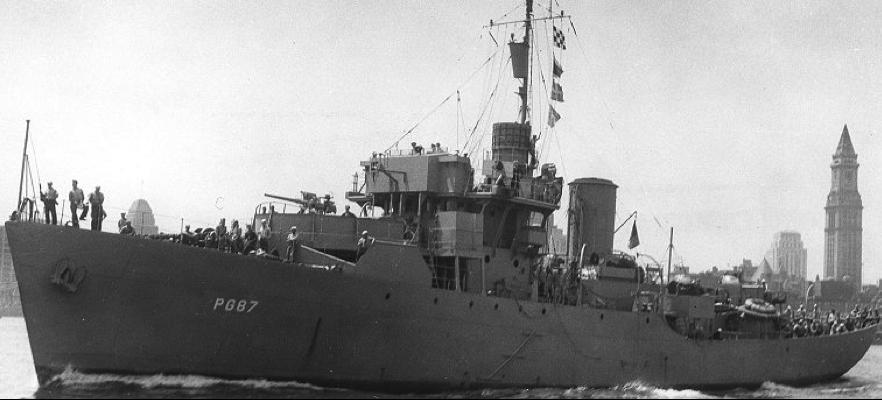Канонерская лодка «Alacrity» (PG-87)