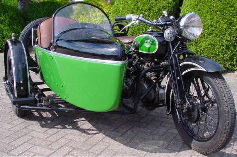 Мотоцикл Renе Gillet 1000 с коляской