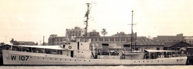 Корабль береговой охраны WPC-107 «Dione»