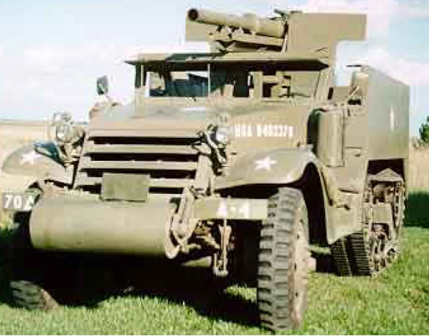 САУ 75-mm Gun Motor Carriage M-3