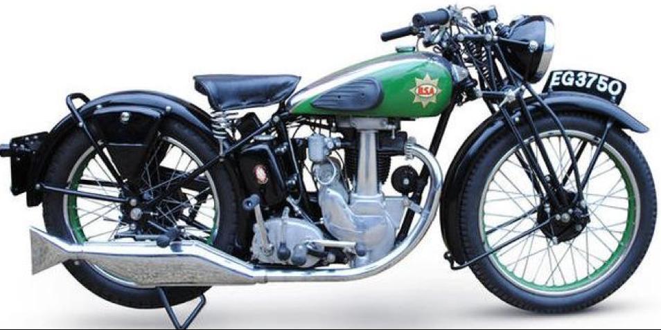 Мотоцикл BSA В-26