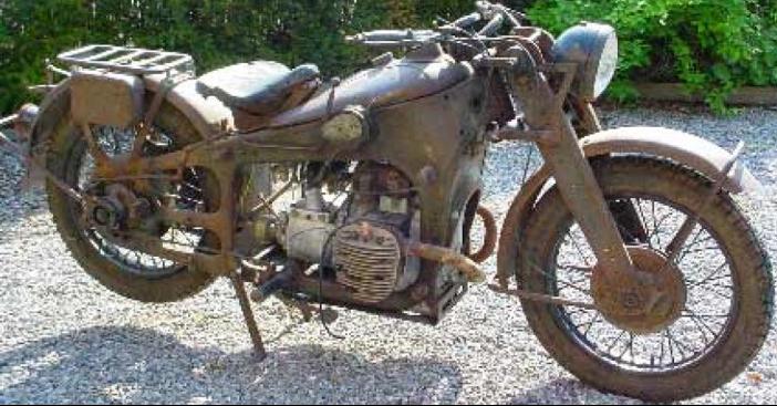 Мотоцикл Gnome Rhone 800AХ