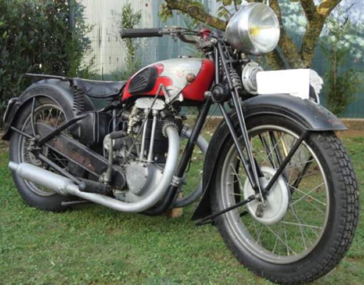 Мотоцикл Motobecane 350 (R-4С)