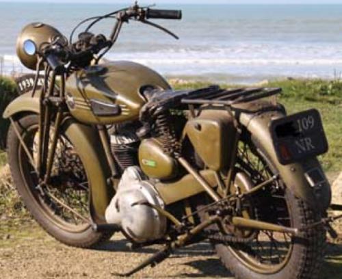 Мотоцикл Terrot RDA