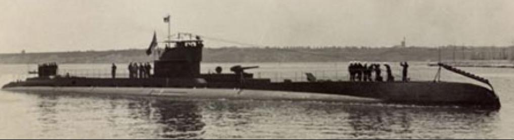 Подводная лодка  «Delfinul»