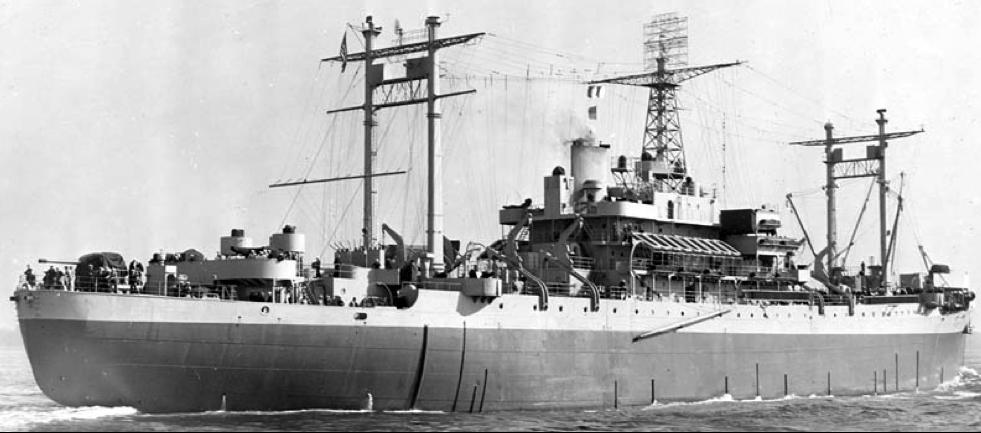 Штабной корабль «Rocky Mount» (AGC-3)