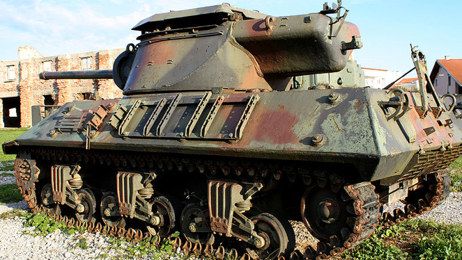 САУ 90-mm Gun Motor Carriage M-36