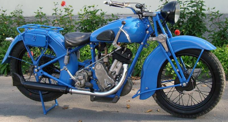 Мотоцикл ТИЗ-АМ-600