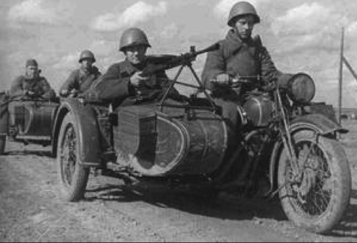 Мотоцикл ТИЗ-АМ-600 с коляской