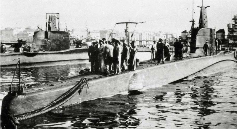 Подводная лодка «Guglielmo Marconi»